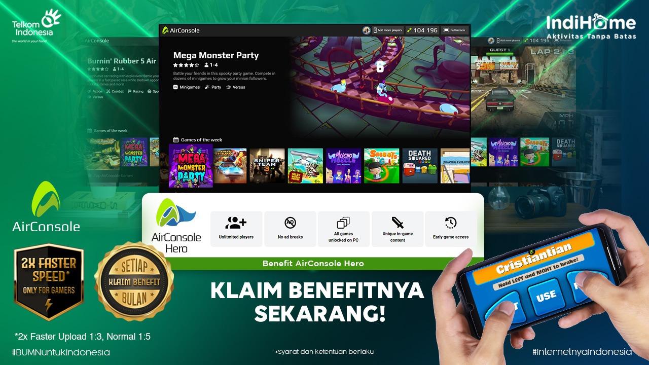 AirConsole Resmi Masuk Pasar Indonesia bersama Melon Indonesia